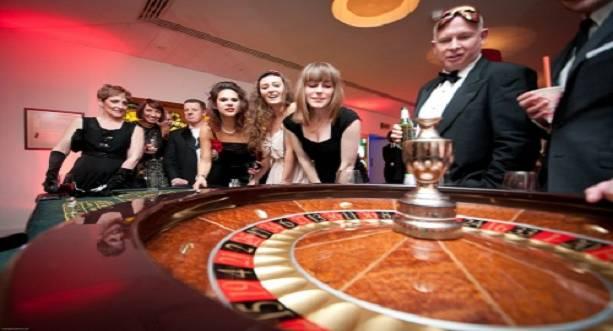 Ett lyxigt casino med flärd