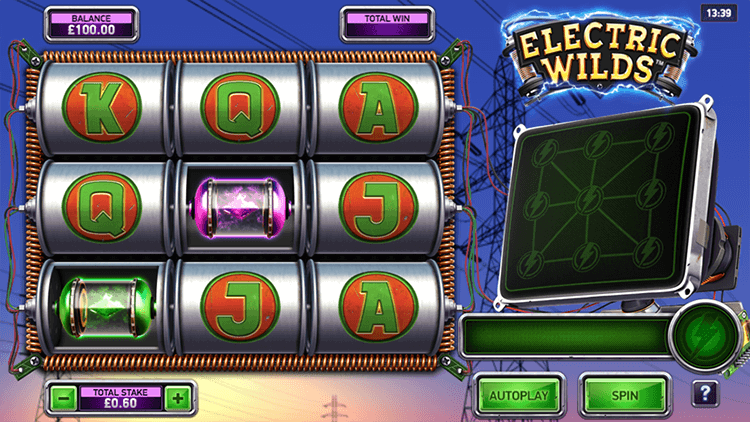 Electric Wilds slot Northern Lights