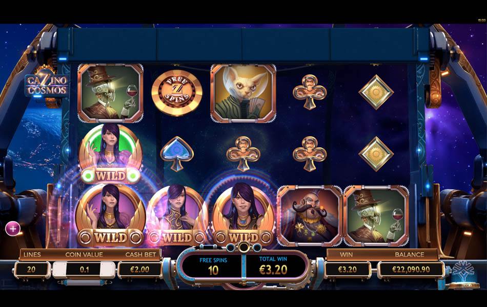 Free Spin Types Cazino Cosmos Yggdrasil Gaming