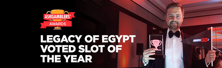 legacy of egypt slot of the year